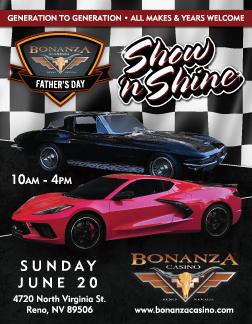 Bonanza Casino's Father's Day Show 'n Shine