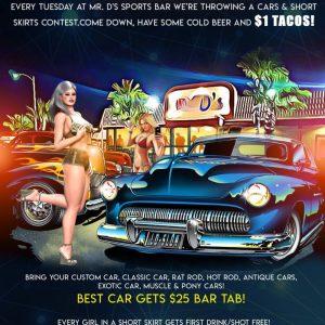 Car Show & Short Skirt Tuesday