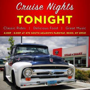 Steak 'n Shake Cruise Night