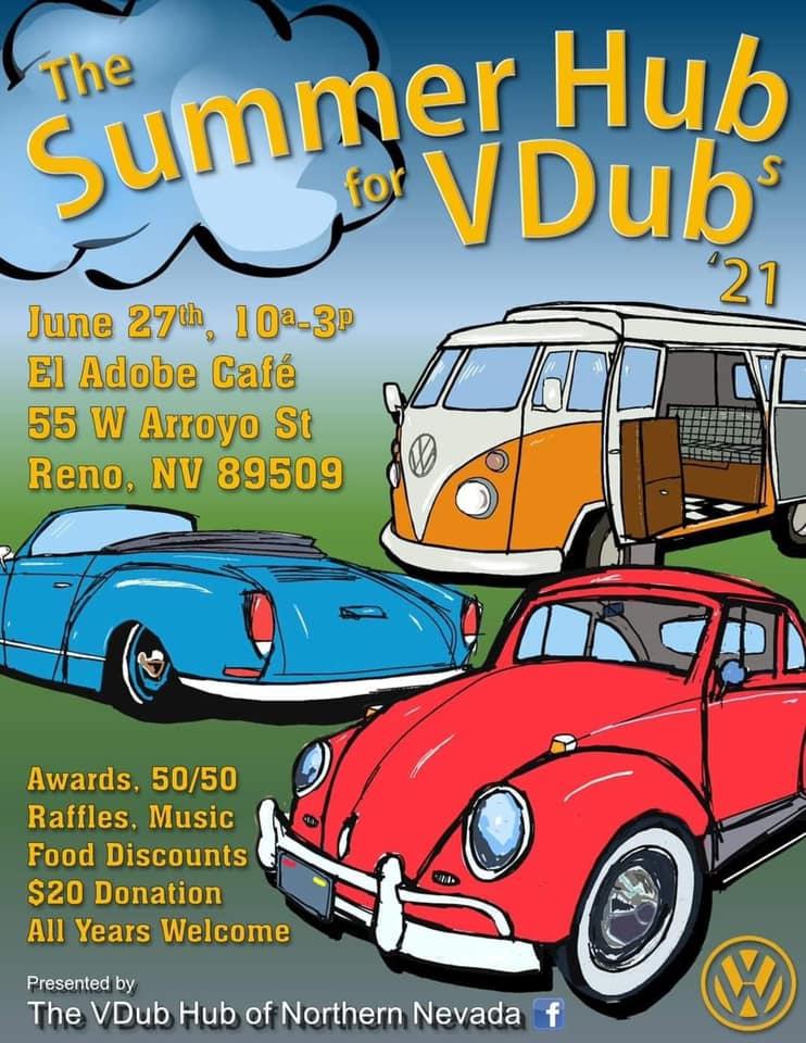 Summer Hub for Vdubs